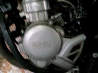 le moteur avec un kit 50  conti