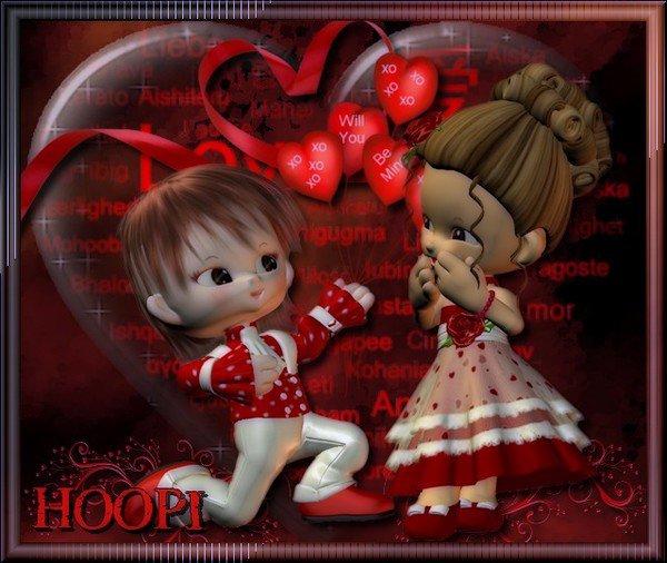 Gagnante du concours st-valentin