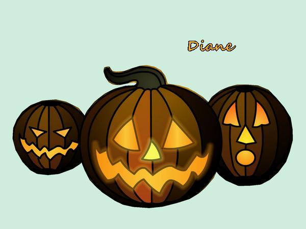 Mon tubes d'halloween
