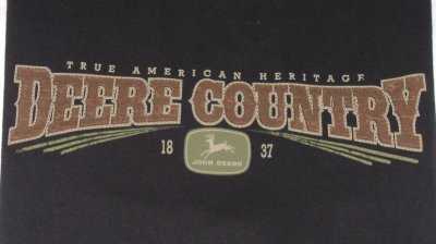 "Tee-shirt John Deere ""Deere Country"""