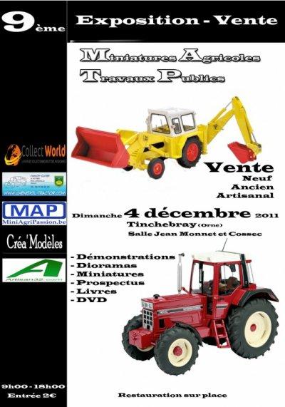 9eme Exposition-Vente de miniatures à Tinchebray(61) du 4/12/2011
