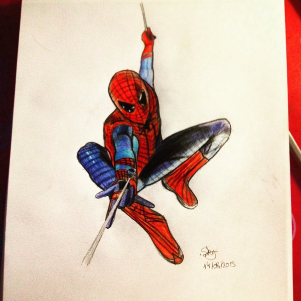 Fan art Spiderman