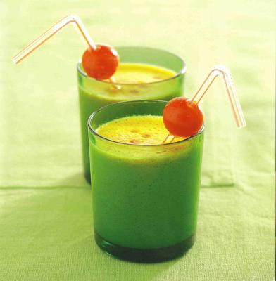 Milk-shake du potager (ou milk-shake au légume)