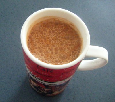 Café moka glacé