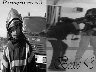 Boxe , Pompier <3