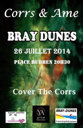 Corrs&Ame en concert à Bray dunes