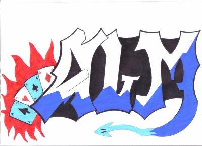 graffiti alm