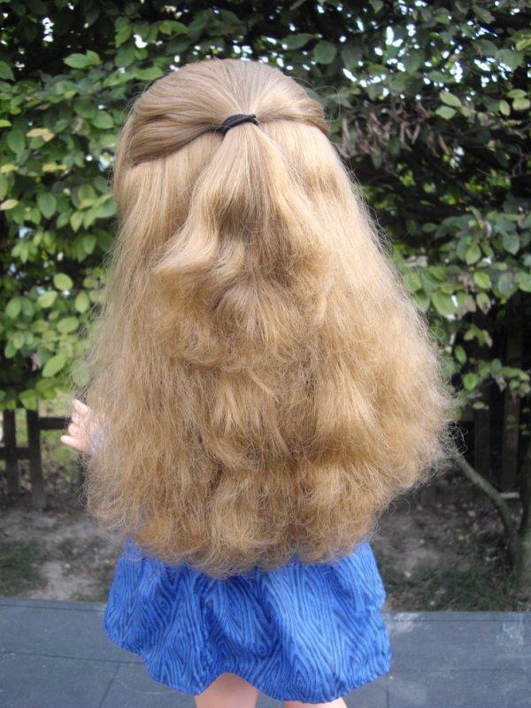 de très beaux cheveux