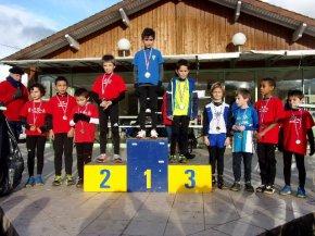 14/01/18 - Championnat départemental de Cross CHATEAUNEUF LA FORET