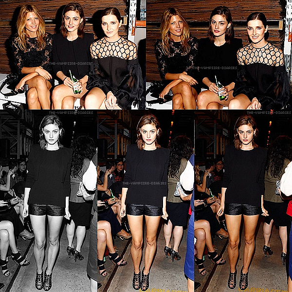 Voici des nouvelles photos de Phoebe et des amies au Alex Perry show en Australie 2013 !!