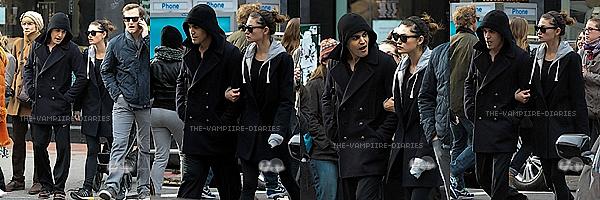 Le 23.11.13: Phoebe et Paul ont était vu se promenant dans Soho a Los Angeles!!