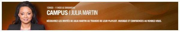 Campus - Julia Martin (Saison 1 - 2012)
