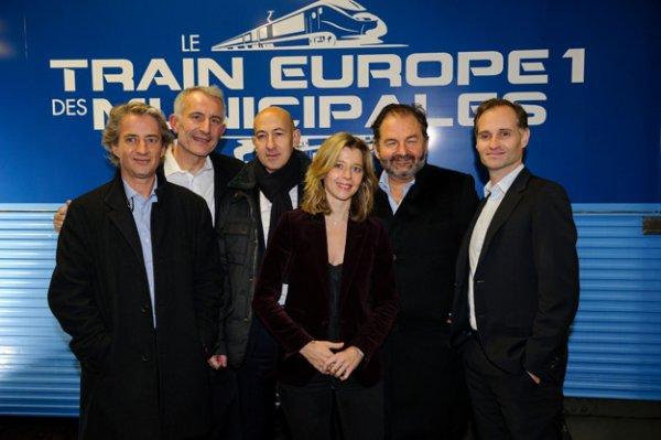 Train Europe 1 des Municipales 2014