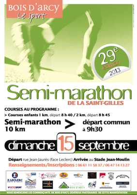semi marathon de bois d 39 arcy blog de speedrunning78. Black Bedroom Furniture Sets. Home Design Ideas