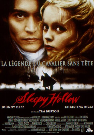 SLEEPY HOLLOW, LA LEGENDE DU CAVALIER SANS TETE