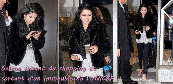12 avril 2012: Découvrez de nouvelles photos de Selena Gomez à New York (Et non en Bulgarie). Selena a été aperçu arrivant à l'aéroport, faisant du shopping et sortant d'un immeuble de l'UNICEF.