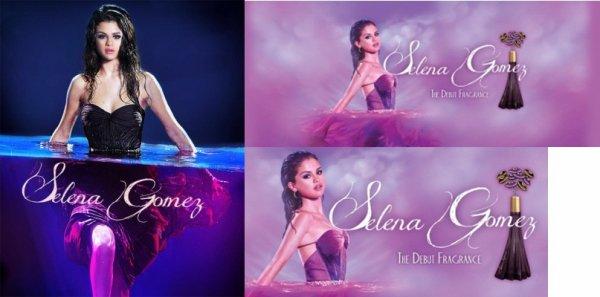 Découvrez les toutes premières affiches promotionnelles de son parfum.