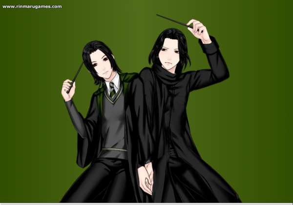 Severus Snape Before/After