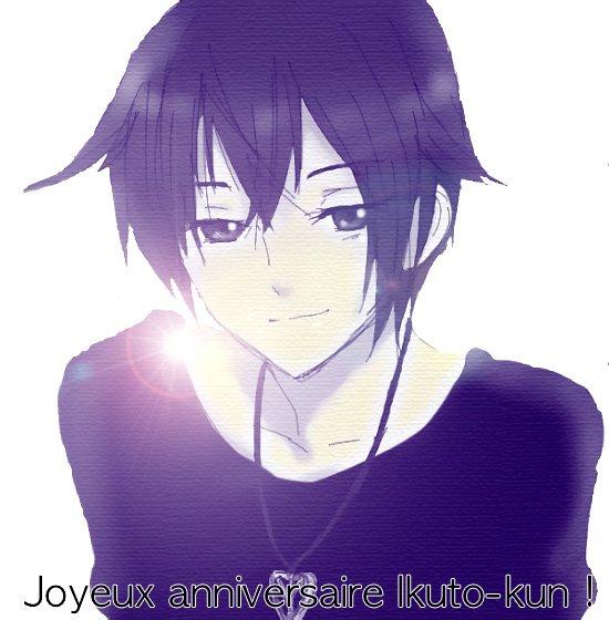 Joyeux Anniversaire Ikuto !