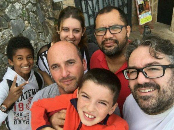 Día de paseó  y BBQ con Yannick y Victor
