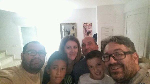 Llegada de Yannick y su familia  a Gandia