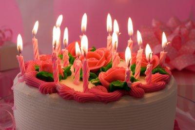 Aujourd'hui c'est mon anniversaire