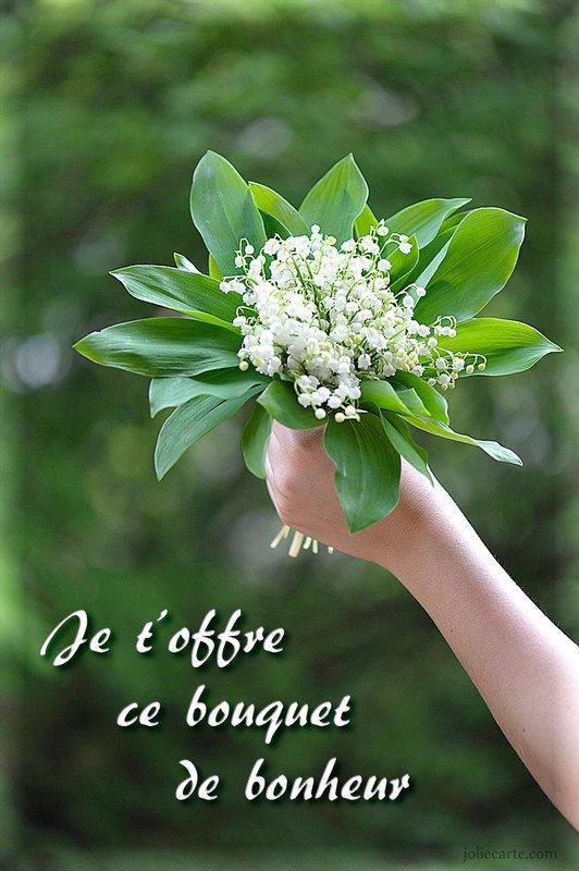 pour vous ce bouquet de bonheur