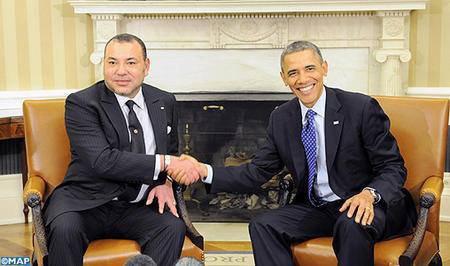 Le roi du Maroc, Mohammed VI a été reçu le 22 novembre à la Maison Blanche par le président américain Barack Obama