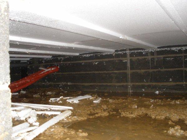 Int rieur du vide sanitaire construction maison phenix nord - Construction vide sanitaire ...