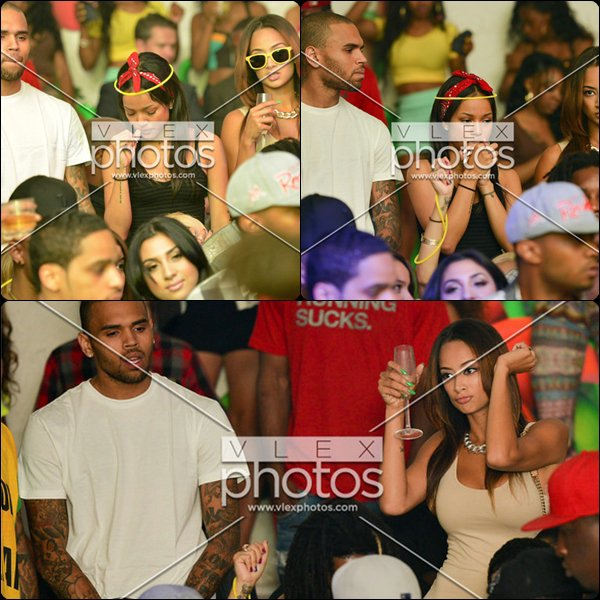26.06.2012 - Chris Brown au SupperClub de Los Angeles.