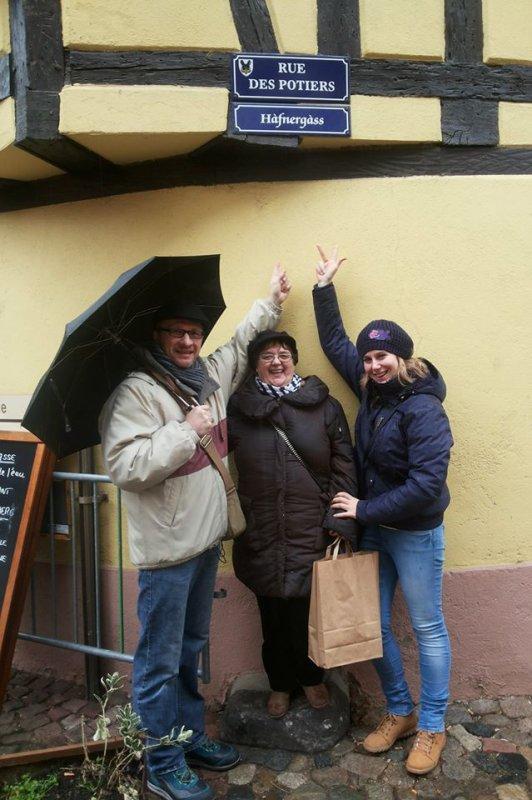 Vacances en Alsace..................