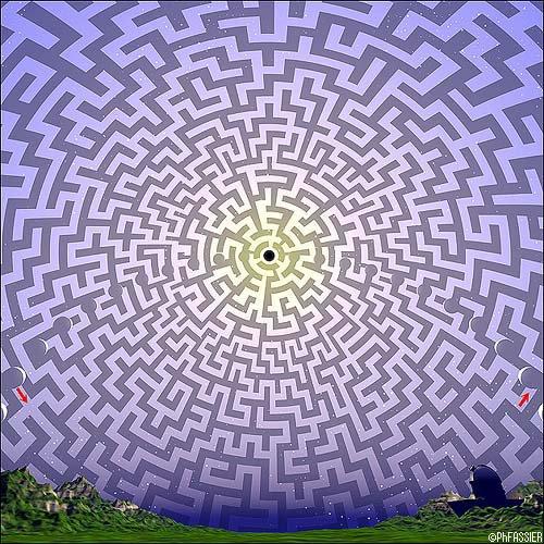 La vie: Ce labyrinthe sans issue