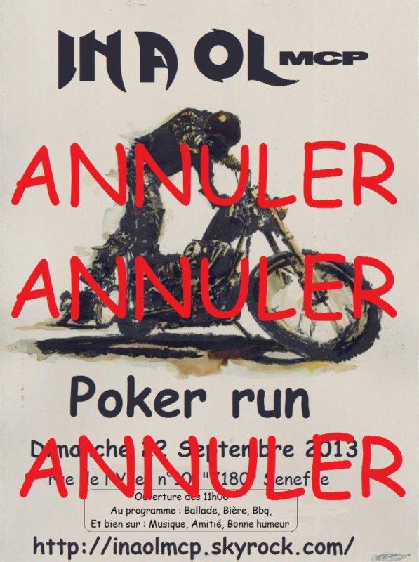 Annulation Poker Run