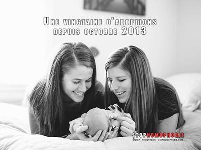 France : Une vingtaine d'#adoptions depuis octobre 2013
