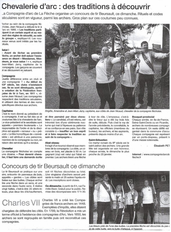 Beursault du 4 Mai à La Flèche
