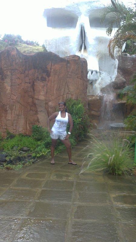 M0i à Water Park à Maurice