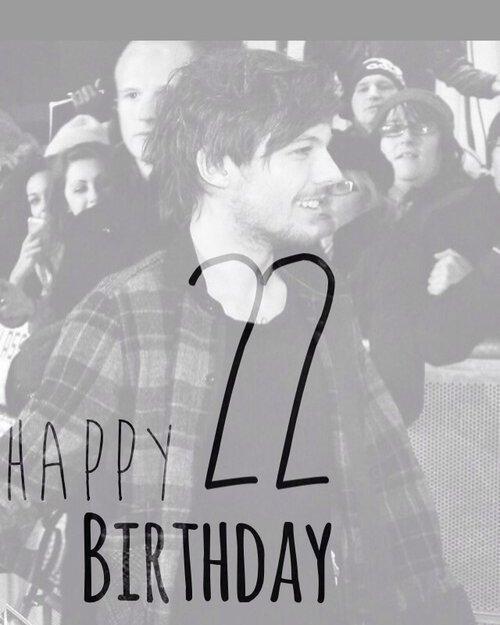 Happy birthday. ♥