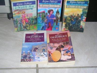 LA BICYCLETTE BLEUE (tome 1 à 10) REGINE DEFORGES