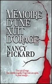 MEMOIRE D'UNE NUIT D'ORAGE NANCY PICKARD