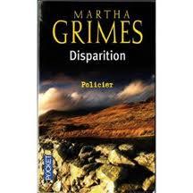 DISPARITION MARTHA GRIMES