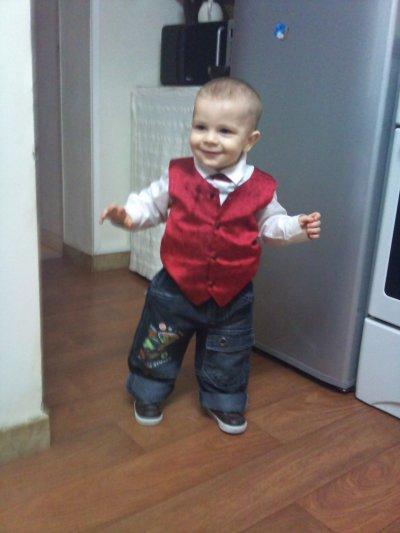 trop beau mon fils deja un an et 5 jours  jtm