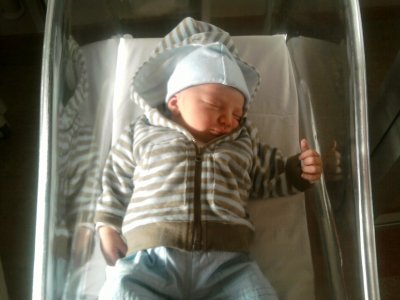 Mon fils Oliveur.