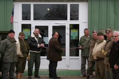 Imauguration de Max Army Shop, notre surplus.