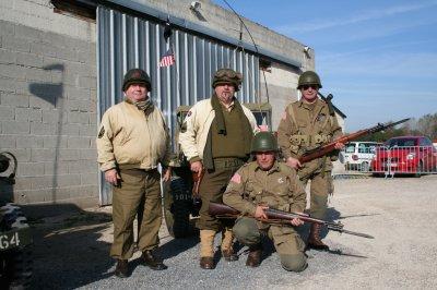 """Nos amis de l'association troyenne """"5e Division d'infanterie US"""""""