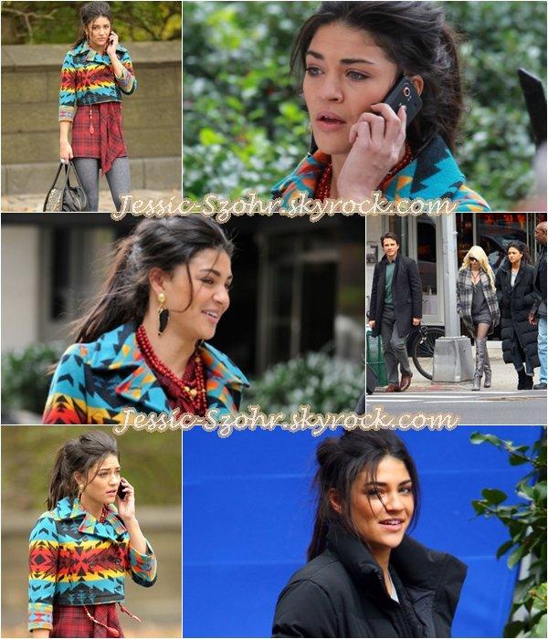 Sur le set de Gossip girl le 18octobre.2010.