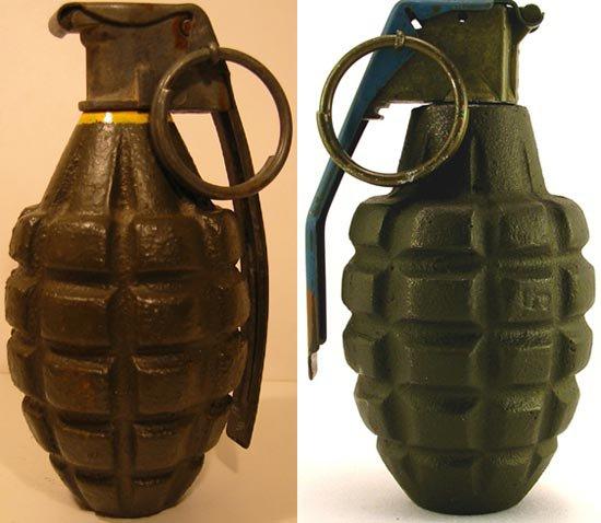 reste de grenade