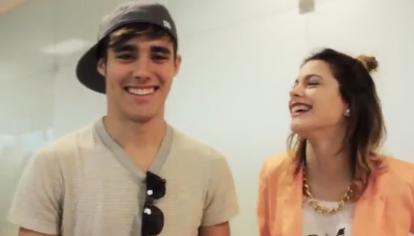 Jorge Blanco et Martina Stoessel ♥