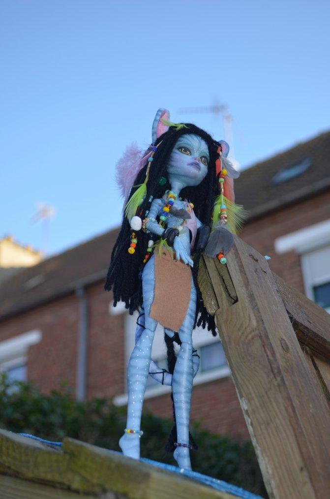 Mes monsters highs  customisées et Dolls