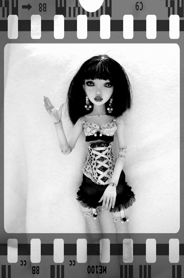 je vous présente Melody ma ooak modèle pièce pièce à la main arrivée tout droit d'ISRAËL