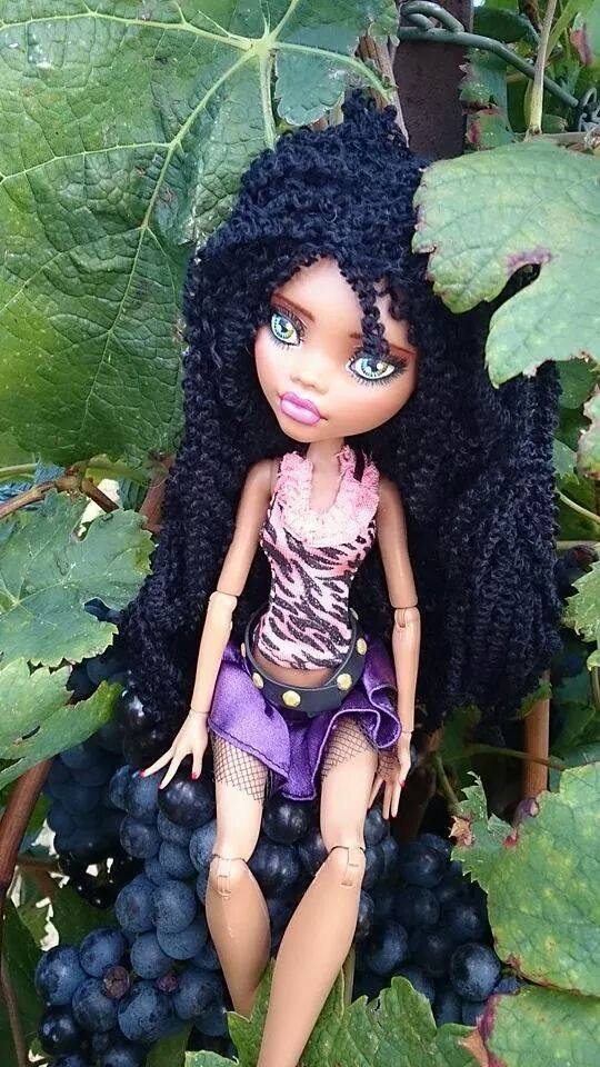 clawdeen wolf custom doll
